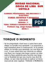 Semana 5 Estatica Dinamica 2016-II