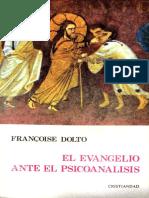 El Evangelio ante el psicoanálisis [Françoise Dolto].pdf