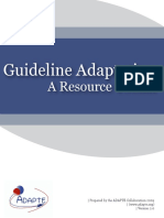 ADAPTE Resource Toolkit V2 Secured March 2010