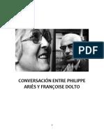 Conversación Entre Philippe Ariès y Françoise Dolto