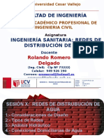 10.a.- Sesion x - Redes de Distribucion de Agua - i