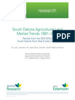 South Dakota Agricultural Land Market