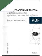 239166673 La Generacion Multimedia Roxana Morduchowicz