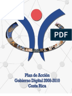 NextGob Agenda Digital Costa Rica 2008 2010