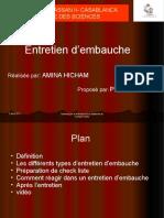91870414 Expose No19 Entretien d Embauche