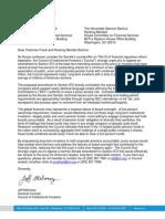 6-16-10 CII Senate Counteroffer Letter on Proxy Access