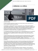 Carvalho. a Opinião Dos Leitores e a Crítica