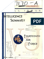 WWII 14th Air Force Intelligence Report