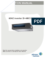 Installation Manual for 60HZ Inverter(9-48K) Ducted 160623 --- YEJE