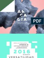 Dossier Workshops Arcadia 2016