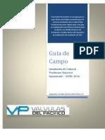 Guía de Instalación Cabezal Inyector Optimizado-SIPEC