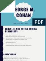 George M Cohen