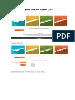 Página Web de Martin Díaz