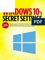 Windows 10 Secret Settings