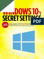 Windows 10 Secret Settings