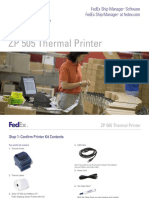 ZP505 Thermal Printer Install Guide