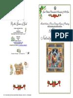 2016-25 Dec-matins & Div Lit-nativity