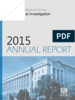 FY2015 IRS-CI Annual Report