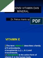 Defisiensi Vitamin