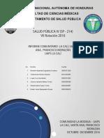 Informe Uaps La Calí - Versión o Editable