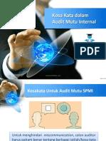 2 Kosa Kata Dalam Audit SPMI(1)
