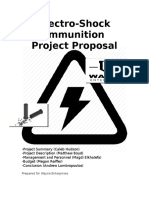 project proposal - electric ammunition