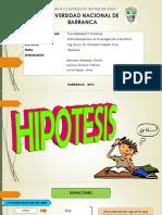 EXPOSICIÓN HIPOTESIS