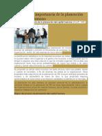 Definición e Importancia de La Planeación Del Capital Humano
