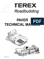 Asphalt Paver Technical Manual
