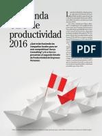Revista G, La Agenda CEO de Productividad 1