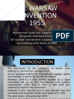 The Warsaw Convention 1955