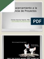 Charla Sobre Gerencia de Proyectos 01-11-2010