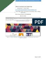 copy of final digital age a1 online tasks
