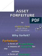 Intro to Asset Forfeiture