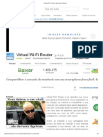 Virtual Wi Fi Router Download Baixaki
