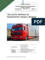 Encuesta a Empresa de Transporte Tranex Limitada 1