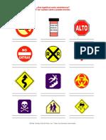 Actividades Para La Escuela Dominical - Advertencias - MATERIAL