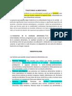 TRANSTORNOS ALIMENTARIOSpsicologia