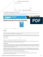 2. Aerobic Fermenter Operation Optimization