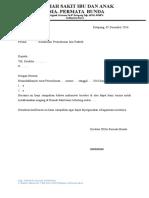 Contoh Surat Konfirmasi
