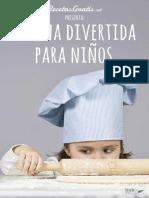 Cocina Divertida Para Ninos_ Re - Recetasgratis.net