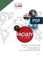 Llm Programme Brochure