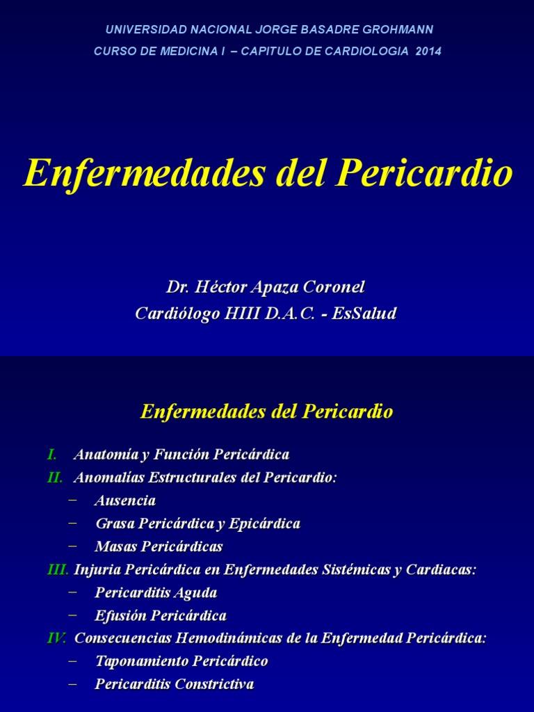 13 Enf del Pericardio 2014.ppt