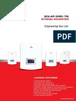 Polycab Solar Inverter Technical Brochure