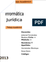 Informática Juridica TERMINADO KIARA