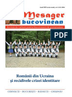 Mesager bucovinean Nr 52 2016