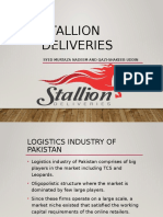 Stallion Deliveries