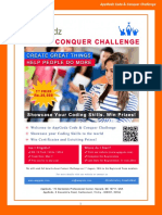 AppGodz Code and Conquer Coding Challenge Details