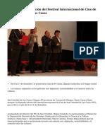 Inicia Segunda edición del Festival Internacional de Cine de San Cristóbal de Las Casas