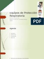 Equipos de Protección Respiratoria